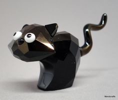 Swarovski Figurine #Theo Cat #Lovlots LE 2009 Black Crystal 995010 New Box Cert #Swarovski