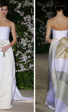 Sample Carolina Herrera Wedding Dress 32206GDS, Size 8  | Get a designer gown for (much!) less on PreOwnedWeddingDresses.com