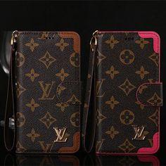 iPhone7 plus ケース ルイウィトン モノグラム ダミエ LV iPhone7 ケース 手帳型 レザー お揃い 激安 ブランド携帯カバー 後払い カード収納 ストラップ