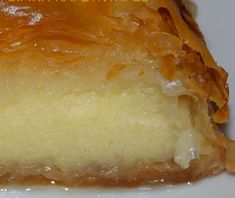 Greek Sweets, Greek Desserts, Greek Recipes, Food Network Recipes, Cooking Recipes, Greek Cooking, Macaron Recipe, Sweets Cake, Food To Make