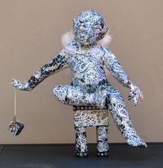 """Saatchi Art Artist Lorry Bentham; Sculpture, """" Cherumin"""" #art"""