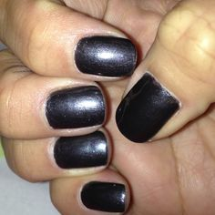 Over The Top by Essie loved the steel glossy look :-)