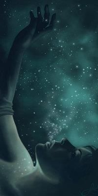 Just Imagine If. You Become the Stars. Foto Fantasy, Fantasy World, Fantasy Art, Fantasy Paintings, Pale Dogwood, Art Magique, Image Beautiful, Beautiful Artwork, Reaching For The Stars