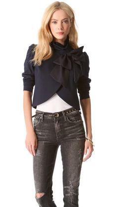 Addison Bow Crop Jacket