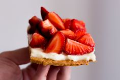 Strawberry, yogurt a