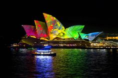 Vivid Sydney's Spectacular Art Festival in GIFs...you HAVE to see this, it is spectacular and unlike anything you've ever seen before!