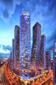 Designed by Hariri Pontarini Architects in Toronto,Canada Located where the longest street in North America, Yonge Street, meets Lake Ontario, One Yonge will be a truly mixed-. Amazing Buildings, Amazing Architecture, Modern Architecture, Toronto Architecture, City Buildings, Canada Toronto, Toronto Star, Visit Toronto, Canada Canada