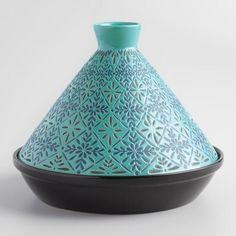 Blue Tile Terracotta Tagine - v1