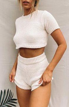 Crochet Clothes, Diy Clothes, Crochet Outfits, Crochet Top Outfit, Style Clothes, Casual Outfits, Fashion Outfits, Womens Fashion, Summer Outfits