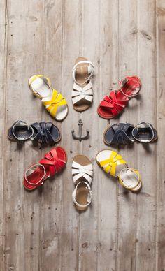 Salt Water sandals, a Cape Cod essential Sophie