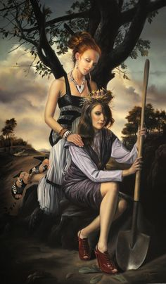 Painting by David Michael Bowers