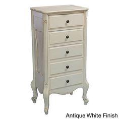 International Caravan Windsor Collection Carved Hardwood 5-drawer Dresser | Overstock.com Shopping - Great Deals on International Caravan Dressers
