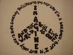 Imagine Peace by ek8997 on DeviantArt