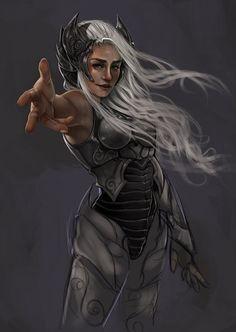 Khaleesi Work in Progress by on DeviantArt Daenerys Targaryen Dress, Khaleesi, Mother Of Dragons, Game Of Thrones, Deviantart, Fictional Characters, Ice, Games, People