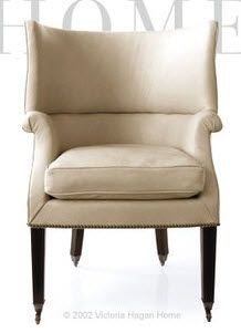 the smaller victoria hagan - emma small wing chair.  this is my fav, I think.