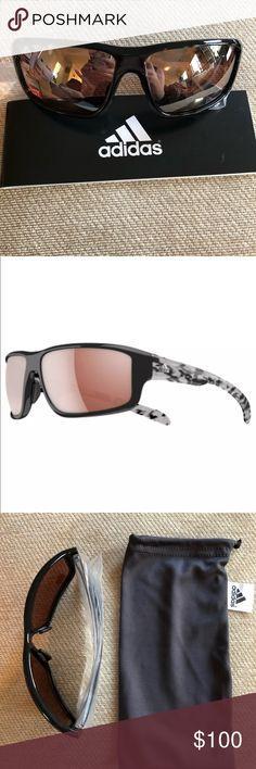 7791c8ed0f Adidas Kumacross 2.0 A424 00 🕶 Adidas Men s Kumacross 2.0 Wrap Black Frame  Sunglasses A424