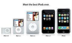 Estos son diferentes tipos de reproducion  y ipods