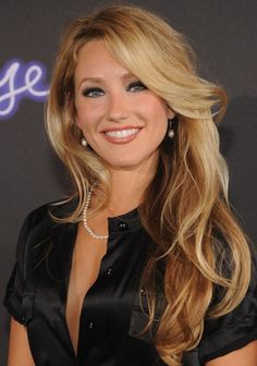 Whitney Duncan Sexy Long Wavy Hairstyle with Bangs | Hairstyles Weekly