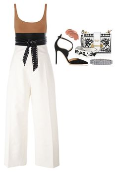 Yes!!! by mohsh on Polyvore featuring polyvore fashion style Jacquemus Eres Gianvito Rossi Prada Tiffany & Co. IRO clothing