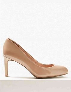 a27446b5ac0 Wide Fit Almond Toe Court Shoes