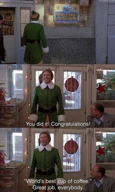 World's Best Coffee #buddytheelf #elf