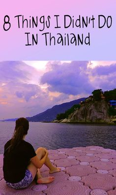 Sure I hit up a lot of the 'best of' Thailand activities. We learned to scuba dive in Koh Tao, drove ourselves from Chiang Mai to Pai on a scooter, visited Bangkok, watched some incredible sunsets and, although I shudder to bring up one of the more painful experiences of my time there, I even accidentally got a Thai massage. Now, planning to head back to Thailand in October, I'm reflecting on all the things I didn't do that I often hear so much about.