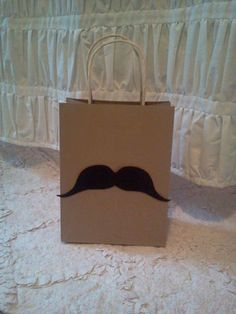 Mustache Party Favor Bag