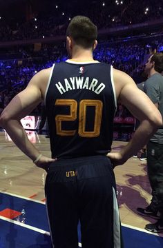 "Gordon Hayward • ""Season Debut"""