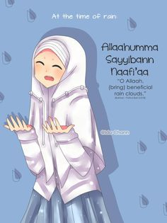 I just want to remember this dua We have a long rainy season in Indonesia~ Dua for Rainy Day Muslim Quotes, Islamic Quotes, Beautiful Dua, Doa Islam, Anime Muslim, All About Islam, Learn Islam, Cute Doodles, Rainy Season