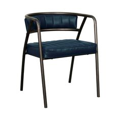 Indulge your love of a retro motif with the Papyrus Side Chair. Its airy metal frame is finished in dramatic gunmetal, offering a gorgeous setting for a slim back and square seat cushion. This one slip...  Find the Papyrus Side Chair- Set of 2, as seen in the Breaking News Collection at http://dotandbo.com/collections/breaking-news?utm_source=pinterest&utm_medium=organic&db_sku=115425