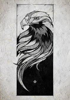 70 Ideas tattoo geometric shapes art prints for 2019 Art Sketches, Art Drawings, Tattoo Sketches, Tattoo Drawings, Adler Tattoo, Eagle Drawing, Geometric Shapes Art, Eagle Tattoos, Arm Tattoos
