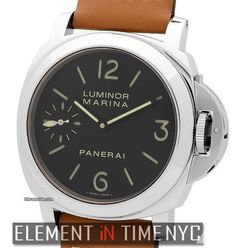 Panerai Luminor CollectionLuminor Marina 44mm Stainless Steel Black Dial I Series Reference #: PAM 1