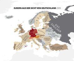 Europa aus Sicht Deutschlands
