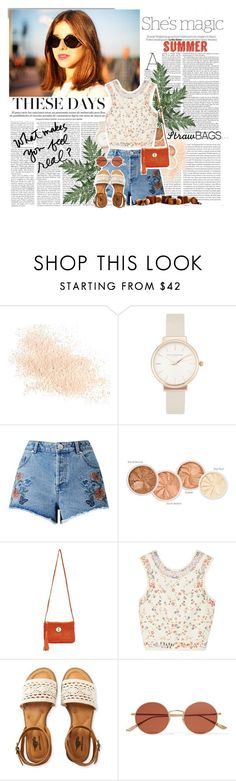 """SUMMER tip : STRAW BAG"" by piponguyen ❤ liked on Polyvore featuring White Label, Oris, Nicole, Eve Lom, Olivia Burton, Miss Selfridge, Seafolly, Etro, Aéropostale and Oliver Peoples"