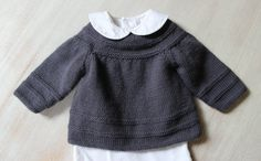 Baby Vest / Instructions in French PDF von LittleFrenchKnits