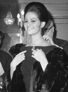 Bulgari. Claudia Cardinale en 1962.