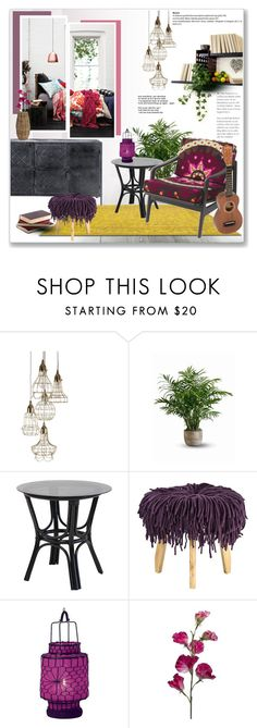 """""""Bohemian Chic Home"""" by daha-mk on Polyvore featuring interior, interiors, interior design, home, home decor, interior decorating, Serena & Lily, Crate and Barrel and bedroom"""