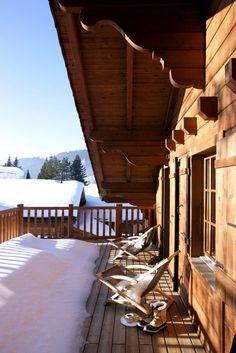 Chalet Rénnvation décoration prestige luxe montagne