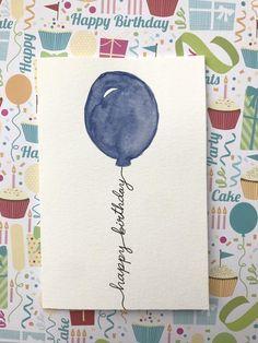 Happy Birthday Cards Handmade, Simple Birthday Cards, Homemade Birthday Cards, Birthday Cards For Friends, Homemade Cards, Birthday Card Messages, Creative Birthday Cards, Card Ideas Birthday, Best Birthday Cards