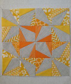 Wonky Triangles Block