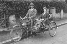 1910 Ariel 482cc Outfit Classic Motorcycle Pictures