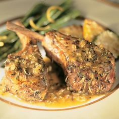 Tender, juicy lamb chops are seasoned to perfection by marinating the lamb in mojo, a traditional Latin citrus-garlic sauce. This recipe comes to us from Chef Allen Susser of Chef Allen's Restaurant, in Aventura, Florida.