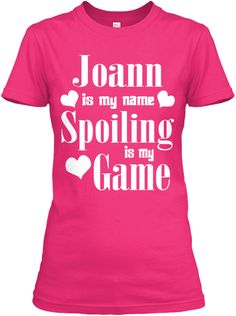 Joann Is My Name Heliconia T-Shirt Front