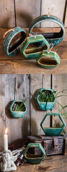 Ceramic Wall Flower Pot from Apollo Box