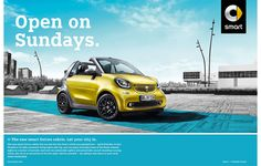 International Launch of the the 2016 Smart Cabrio, fortwo and forfour