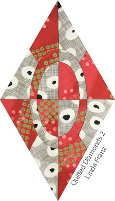 Diamond from Quilted Diamonds 2 by Linda Franz
