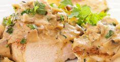 Creamy Mustard Mushroom Chicken