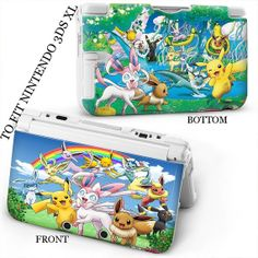3DS XL Protective Case with cool custom design by dsheaven on Etsy, $14.60