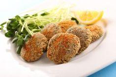 Vegan baked Falafel balls