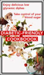 FREE Diabetic Friendly Cookbook on http://www.icravefreebies.com/